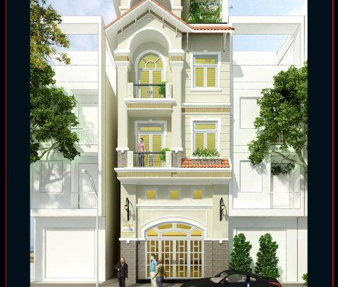 Thiết kế và Xây dựng nhà phố Tân Bình