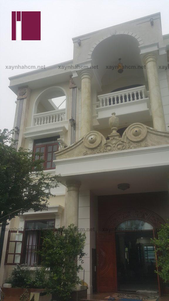 xây dựng biệt thự đẹp quận Tân Bình