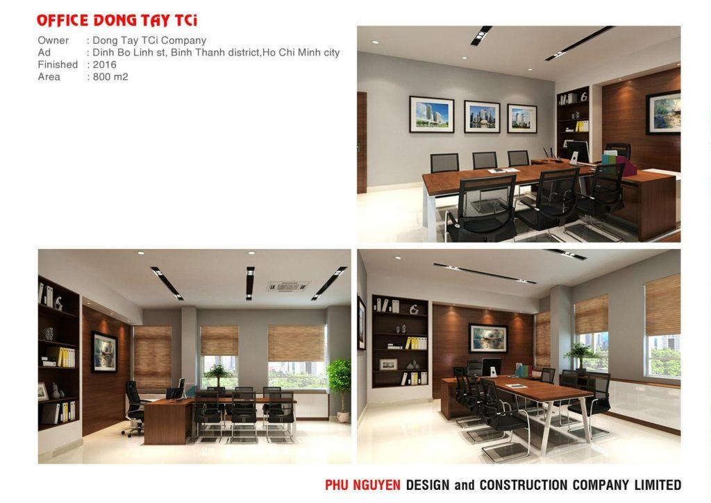 Dịch Vụ Thiết Kế Nội Thất Đẹp Chuyên Nghiệp Tp hcm - Dong Tay office 2