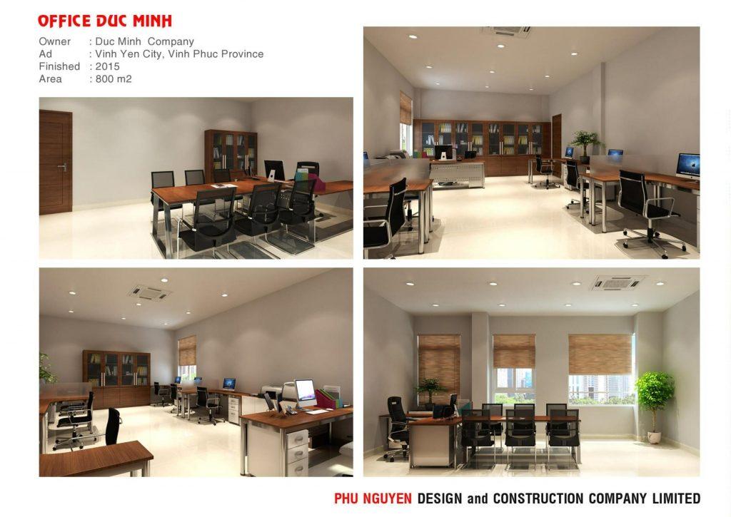 Dịch Vụ Thiết Kế Nội Thất Văn Phòng Đẹp Chuyên Nghiệp Tp hcm - Duc Minh office 1