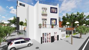 Phối cảnh 3D xây nhà phố trọn gói
