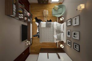 Chọn bố cục thiết kế không gian nhỏ phù hợp