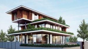 Mẫu biệt thự Phú Nguyên Thiết kế 2019
