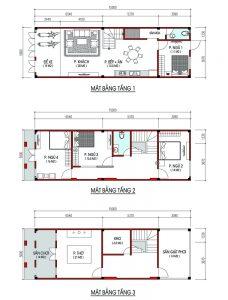 Hồ sơ thiết kế công ty Phú Nguyên