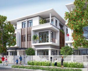 Mẫu biệt thự Phú Nguyên Thiết kế 2020