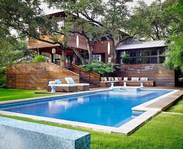 Tiêu chuẩn thiết kế bể bơi ngoài trời, bể bơi gia đình