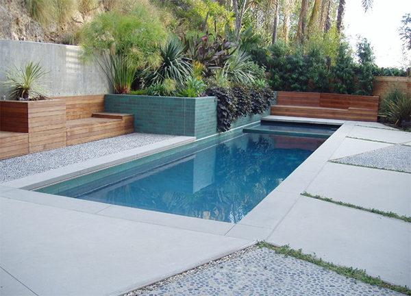Bể bơi diện tích 40 - 70m2
