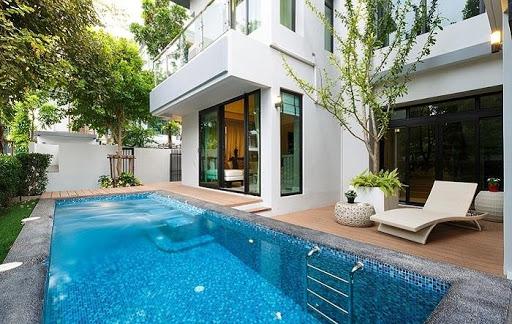 Mẫu thiết kế bể bơi đẹp số 1