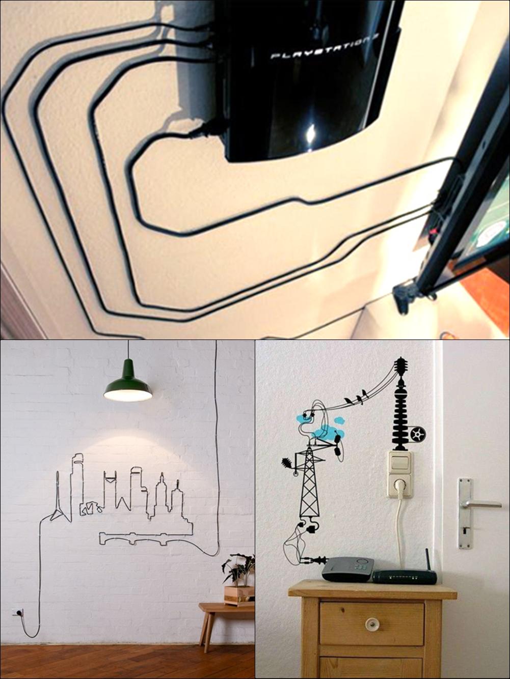 Cố định và tạo hình cho đường dây điện