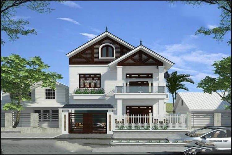 Mẫu thiết kế nhà 2 tầng hiện đại
