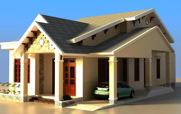 Nhà mái thái 1
