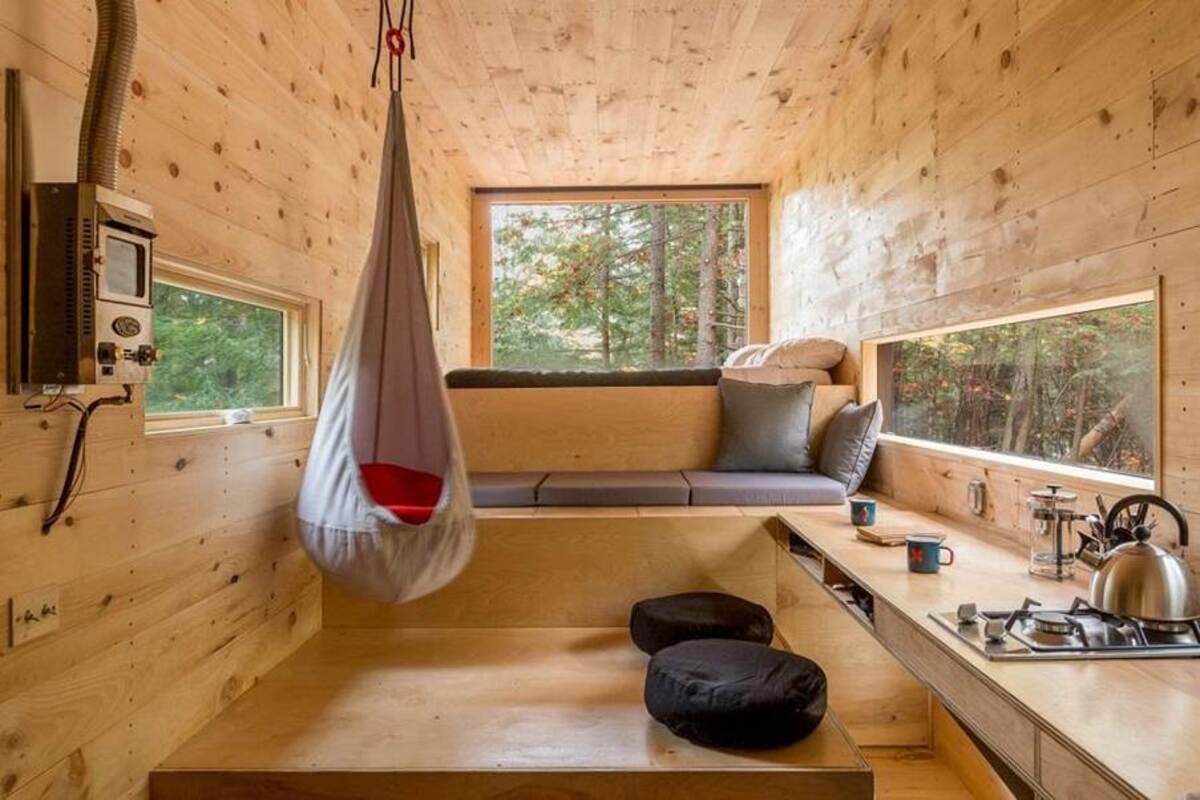 Ngôi nhà nhỏ thân thiện môi trường