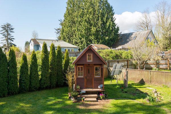 Ngôi nhà nhỏ gọn ở Mỹ