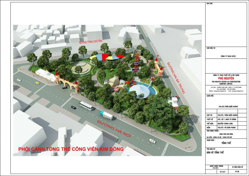 Thiết kế cảnh quan công viên sân vườn 1
