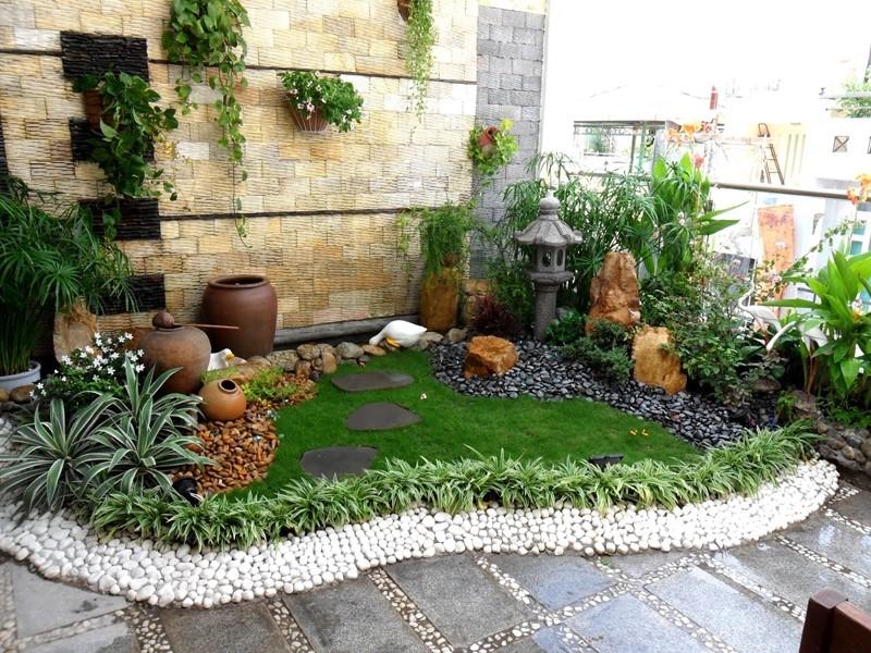 Những mẫu thiết kế sân vườn đơn giản – đẹp